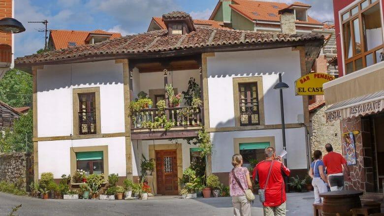 Dorfzentrum von Arenas