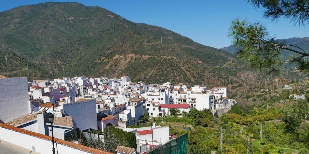 Istán, ein Pueblo Blanco nahe der Costa del Sol