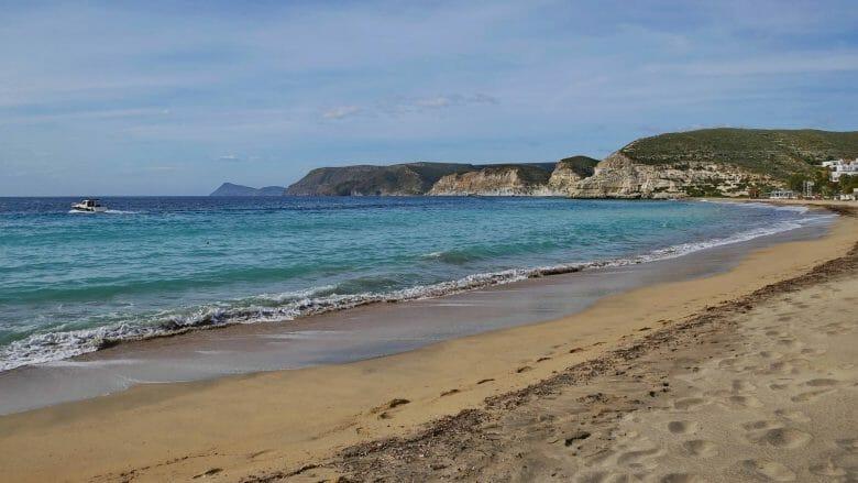 Küste bei Agua Amarga