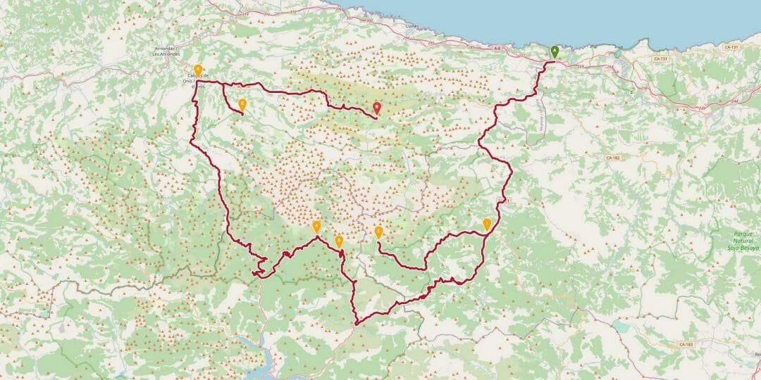 Rundfahrt Picos de Europa