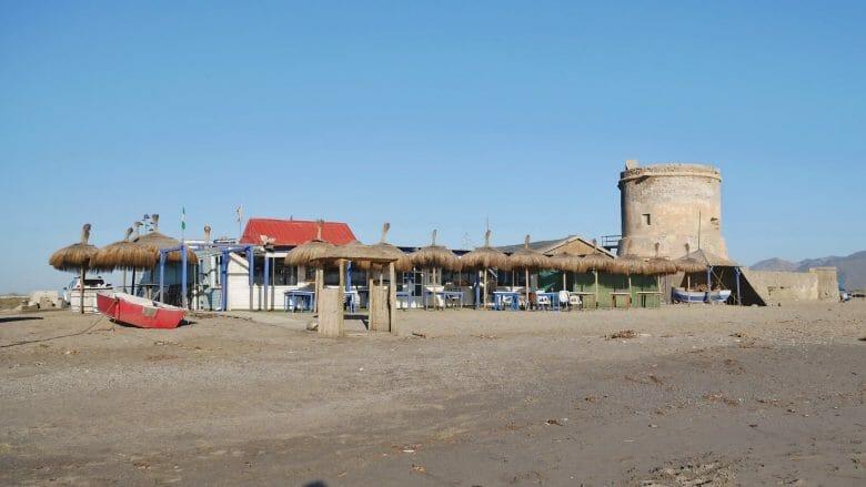 Strandbar in San Miguel de Cabo de Gata