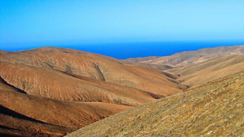 Berge von Betancuria
