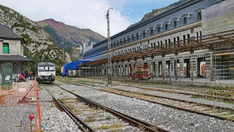 Bahnhof von Canfranc