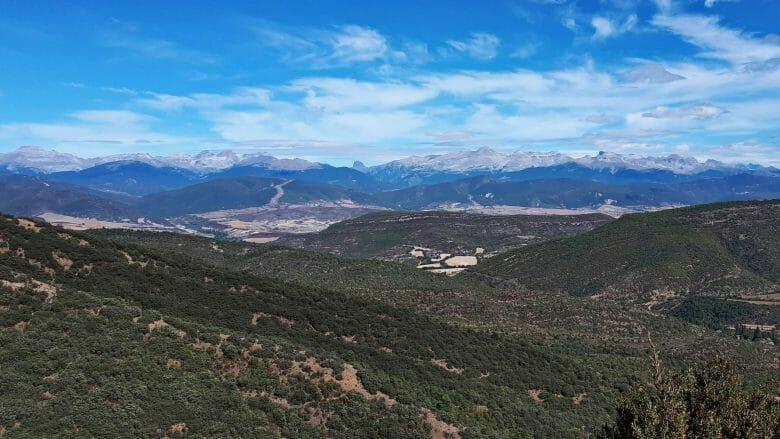 Pyrenäen und Aragón-Tal